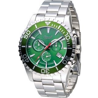 【Ogival 愛其華】先鋒極速計時腕錶(3985-3GS-G)
