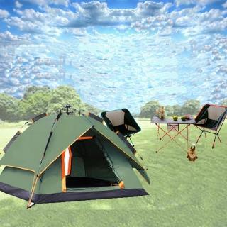【WASHAMl】就是愛露營自動帳篷LZ01-014(3-4人)