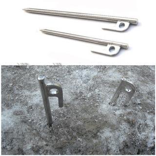 【WASHAMl】SUS304不銹鋼地釘水泥釘20cm(六入)