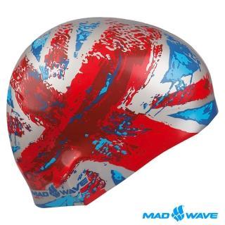【俄羅斯MADWAVE】成人矽膠泳帽(UK)