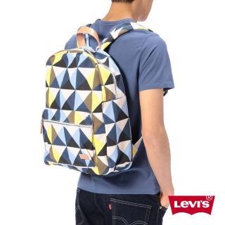 【Levis】幾何雙色肩背包