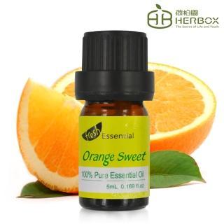 【Herbox 荷柏園】甜橙精油 5ml(Orange)