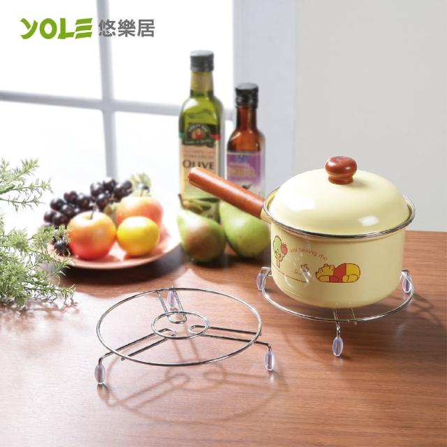 【YOLE悠樂居】鍋具隔熱墊-大#1134009(3入)