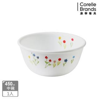 【CORELLE 康寧】450ml中式碗-春漾花朵(426)