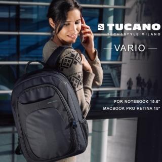 【TUCANO】VARIO 15.6吋經典商務後背包