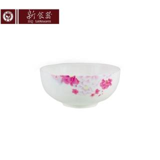 【新食器】繽紛花語5吋湯碗