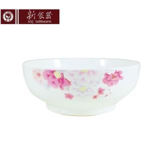 【新食器】繽紛花語8吋湯碗
