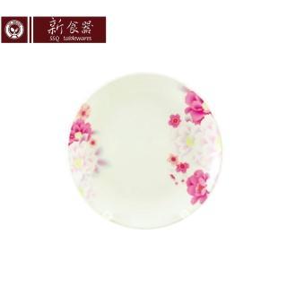 【新食器】繽紛花語7吋平盤
