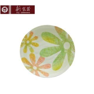 【新食器】日本製戀花8吋平皿