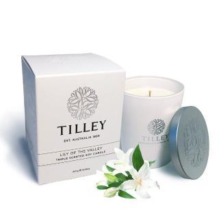 【Tilley百年特莉】幸福百合香氛大豆蠟燭(240g)