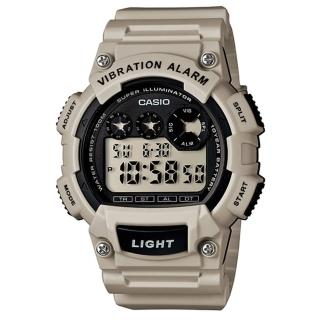 【CASIO】專業級震動潮流電子錶(W-735H-8A2)