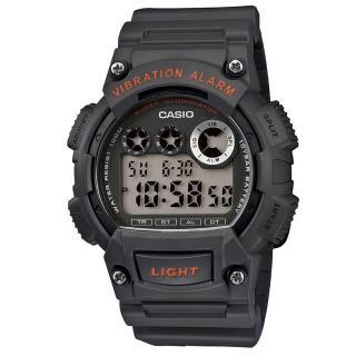 【CASIO】專業級震動潮流電子錶(W-735H-8A)