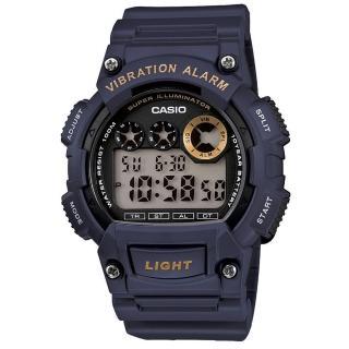 【CASIO】專業級震動潮流電子錶(W-735H-2A)