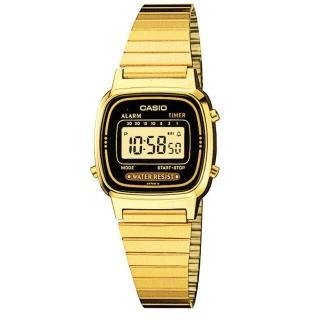 【CASIO】時尚質感典雅腕錶(LA-670WGA-1)