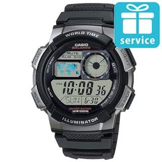 【CASIO】世界城市野外風格概念錶(AE-1000W-1B)