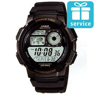 【CASIO】世界城市野外風格概念錶(AE-1000W-1A)