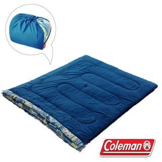 【美國 Coleman】2合1家庭睡袋/5度C/可機洗.可雙併.附收納袋.睡墊(CM-27257)