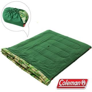 【美國 Coleman】2合1家庭睡袋/10度C/可機洗.可雙併.附收納袋.睡墊(CM-27256)