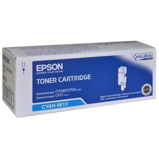 【EPSON】AL-C1700/C1750N/C1750W/CX17NF 藍色碳粉匣(S050613)