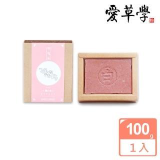 【愛草學】玫瑰果嫩白皂(無添加防腐劑、人工色素、香精)