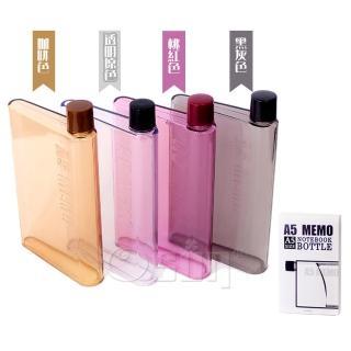 【Osun】暢銷日韓A5筆記本造型水瓶、水壺-兩入CE-206(A5水瓶)