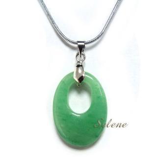【Selene珠寶】精緻滿綠東菱玉墜