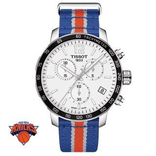 【TISSOT 天梭】NBA 紐約尼克隊特別版石英腕錶(42mm/T0954171703706)