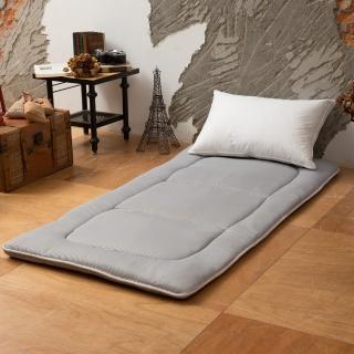 【LAMINA】極簡灰條日式床墊5cm-單人