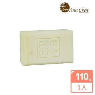 【陳怡安手工皂】純淨橄欖手工皂110g(溫和淨柔系列)