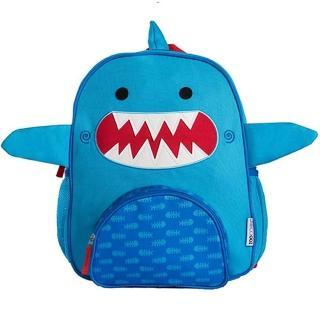 【美國ZOOCCHiNi】可愛動物兒童後背包(小鯊魚)