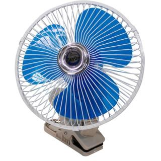 【OMAX】8吋汽車電風扇24V專用(12H)