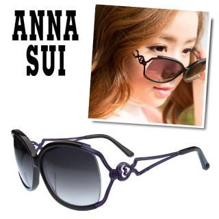 ~Anna Sui~安娜蘇 優雅 金屬鏤空心型太陽眼鏡  model 款^(~四色~AS8