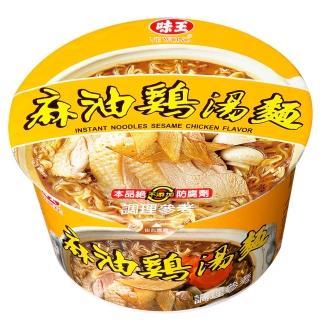 【味王】味王麻油雞絲湯碗麵92g*12入/箱