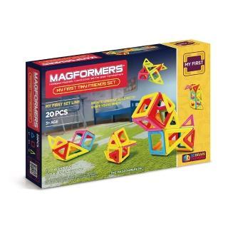 【Magformers】磁性建構片-Neon20片裝(2016新品上市)