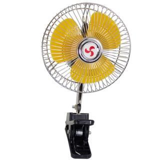 【OMAX】6吋旋轉涼電風扇12V專用
