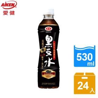 【愛健】藍正龍代言 黑豆多酚黑豆水(530mlx24瓶/箱)   愛健