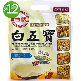 【台糖】白五寶量販包12袋/箱(30g*15包/袋)