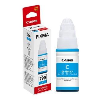 【Canon】GI-790C 原廠藍色墨水(速達)