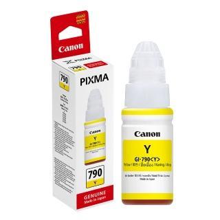 【Canon】GI-790Y 原廠黃色墨水(速達)