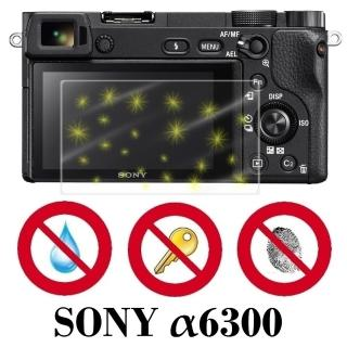 【D&A】SONY A6300日本原膜螢幕貼(NEWAS玻璃奈米型)