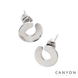 【CANYON】貼式C字耳環