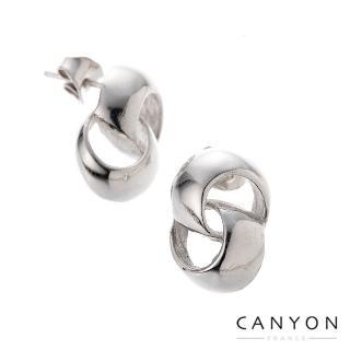 【CANYON】雙圈八字耳環