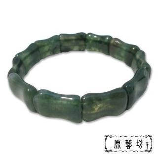 【原藝坊】海藻玉_節節高昇手鍊(版寬14 mm)