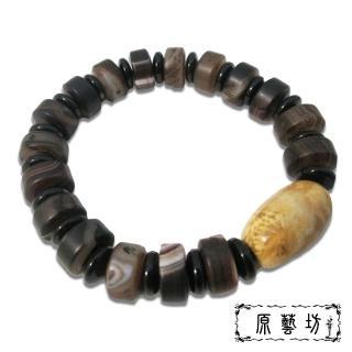 【原藝坊】珊瑚玉天珠開運手鍊(直徑20-25 mm)