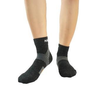 【美肌刻 Magic sport】頂級美麗諾 Merino 羊毛運動襪-2雙(MIT)