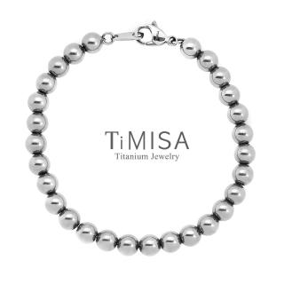 【TiMISA】鈦珍珠 純鈦手鍊(M)