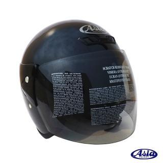 【ASIA】FreeStyle A702 3/4罩式安全帽(亮黑)