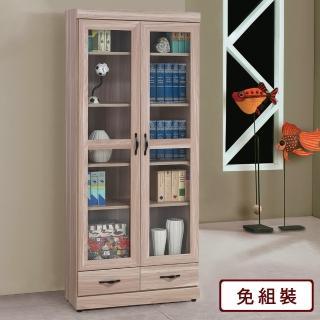 【Homelike】維琪2.7尺下抽書櫃