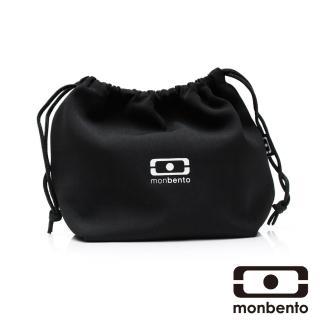 【MONBENTO】餐布袋-黑 白(MB-100202001)