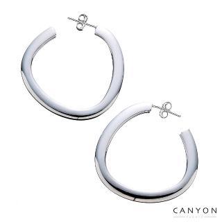 【CANYON】大三角圈耳環